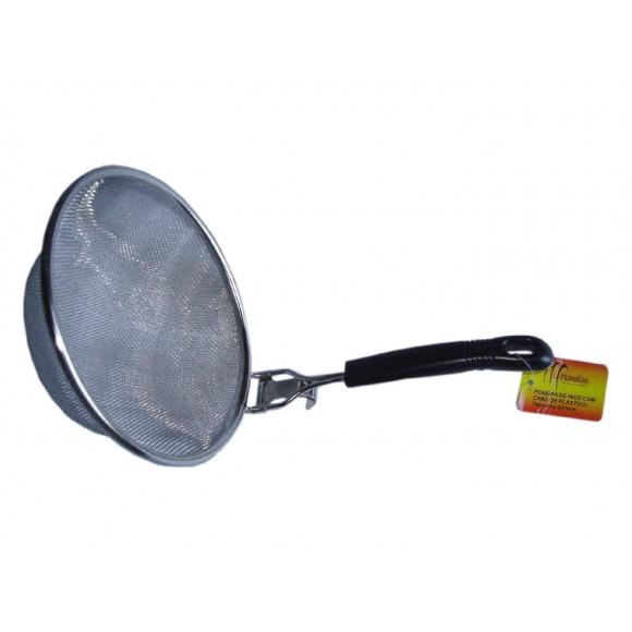 PENEIRA INOX CB PLASTICO DIAM.15CM  MZ-24174