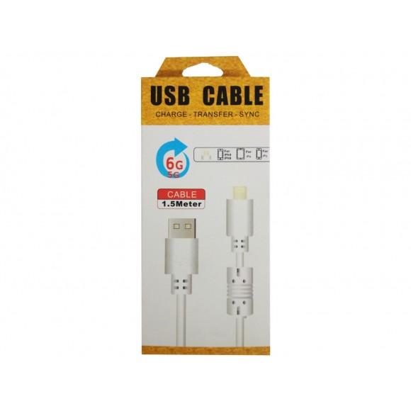 CABO -  USB COM ENTRADA IPHONE 5/6