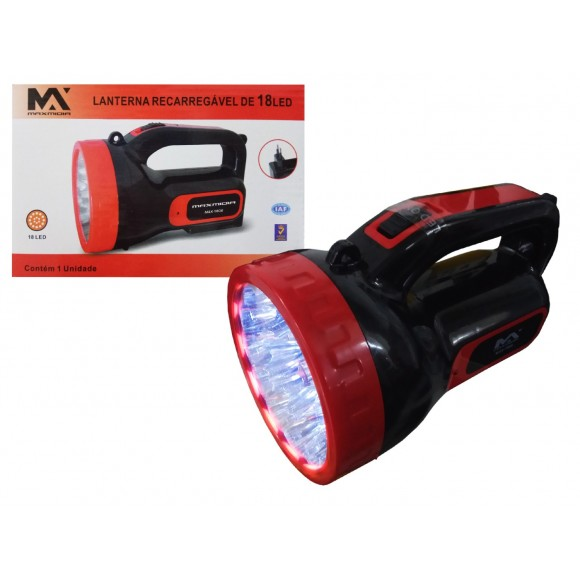 LANTERNA 18 LED    MAX-1808