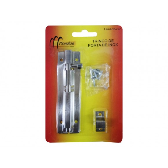 TRINCO DE PORTA INOX 4   MZ-51062