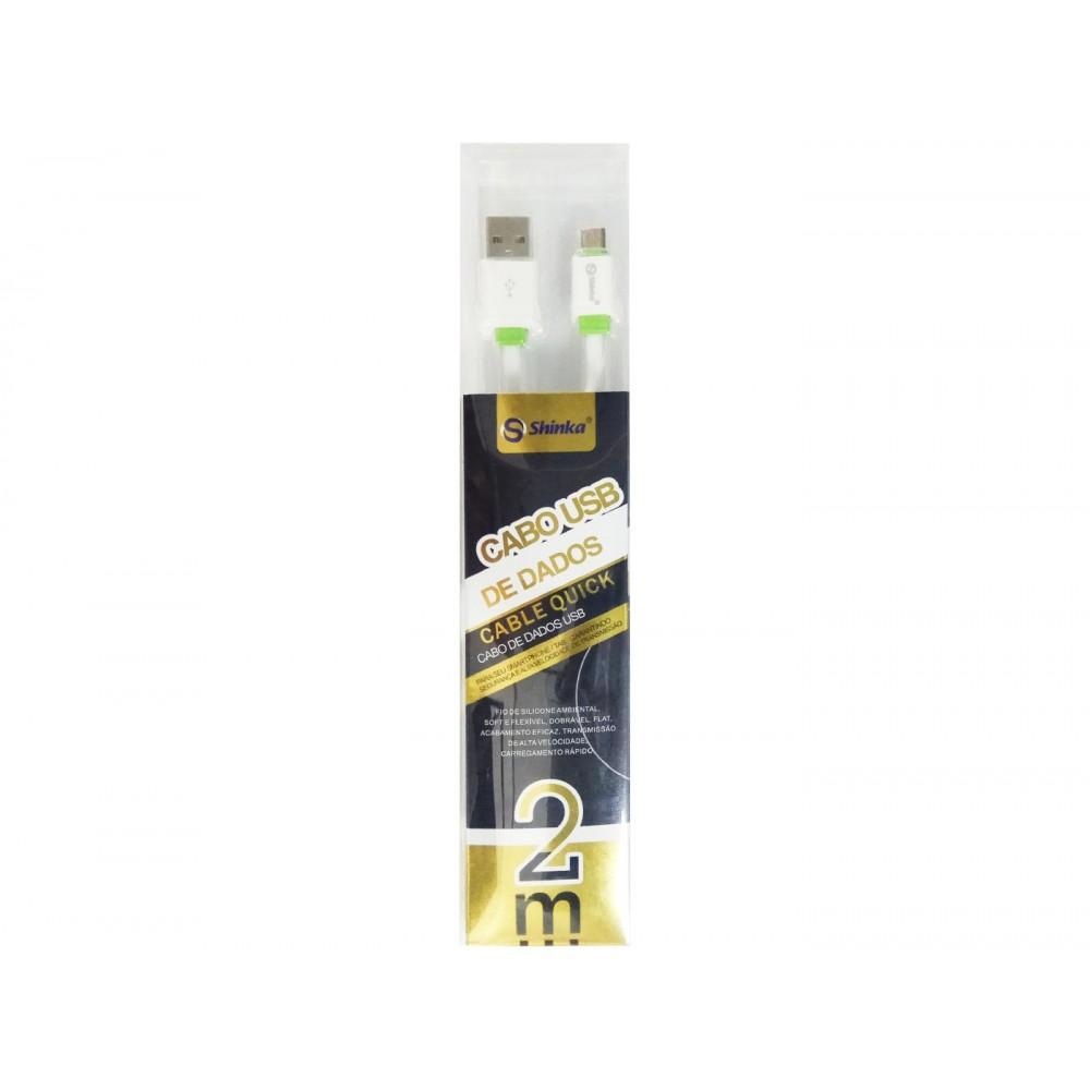 CABO USB V8  2METROS