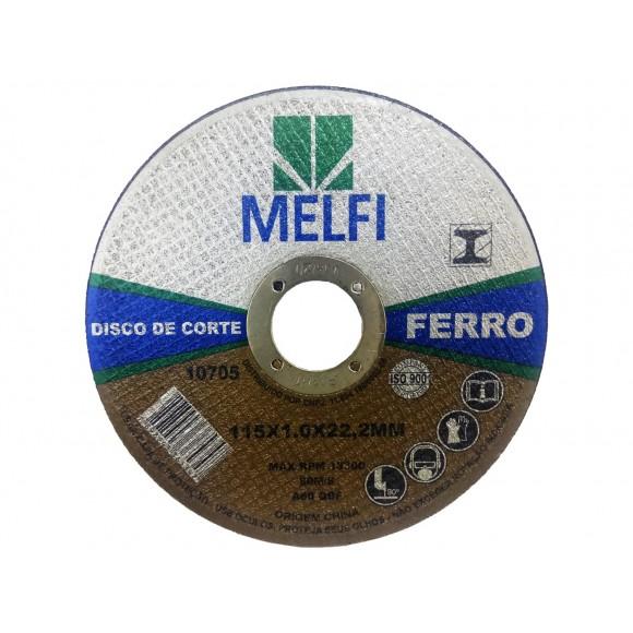 DISCO CORTE P/ FERRO  115*1,0*22,2MM