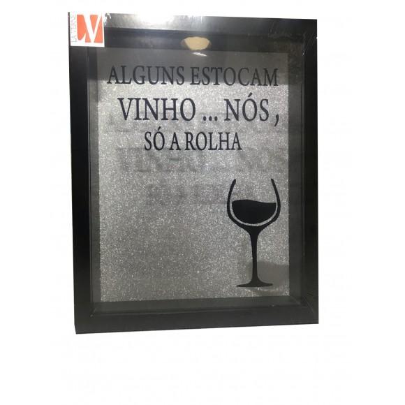 ENFEITE DE MADEIRA P/  ROLHA    NDB-104