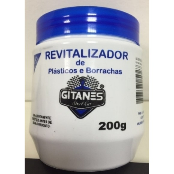 REVITALIZADOR DE PLASTICO E BORRACHAS 200G   GITANES
