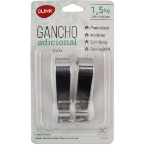 GANCHO DE TRIPLO PLASTICO 16,5*4,5*3CM   CK-3565