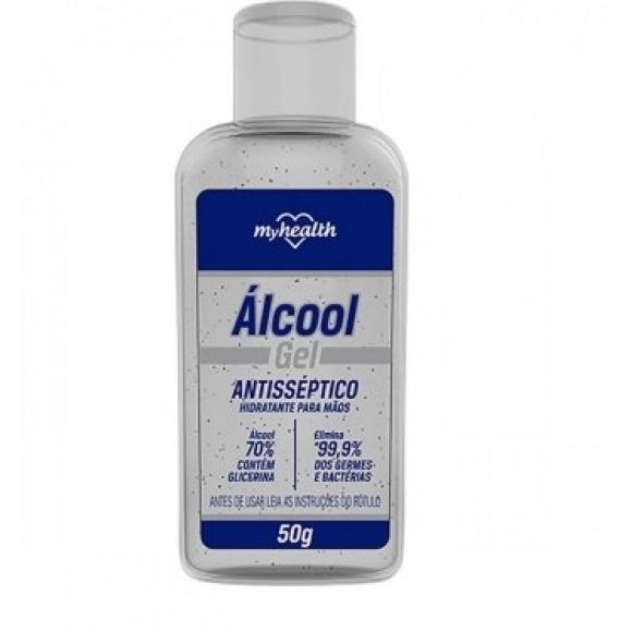 ALCOOL GEL 70% ANTISSEPTICO 50G  AERO