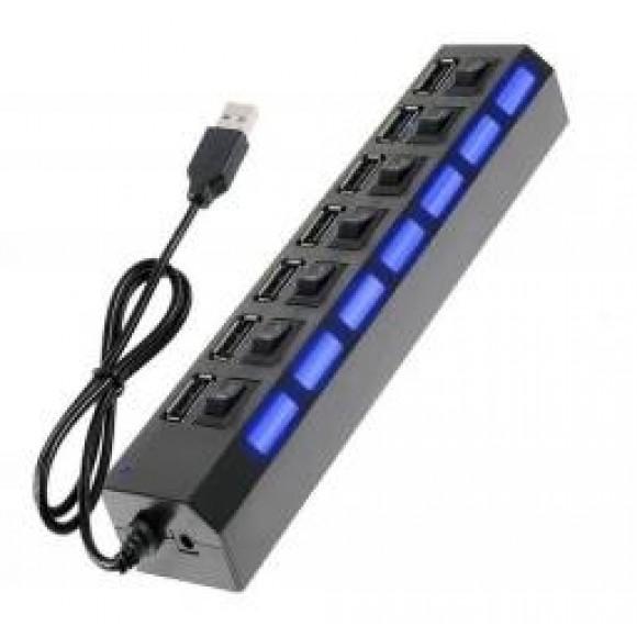 RUB   USB COM 7 PORTA  HUB-7P