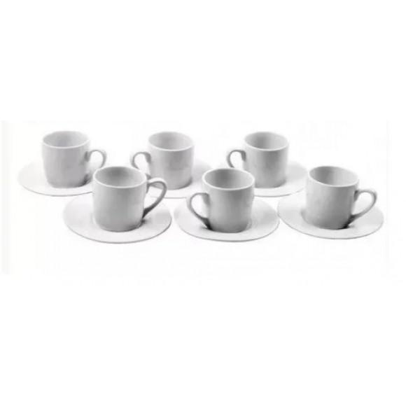 JOGO DE XICARA DE CAFE RETO 6JG   MZ-93514