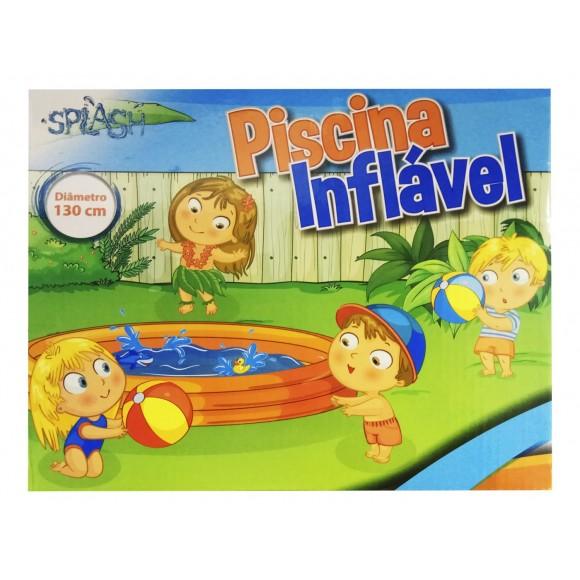 PISCINA INFLAVEL DE PLAST P/ ENTRETEN