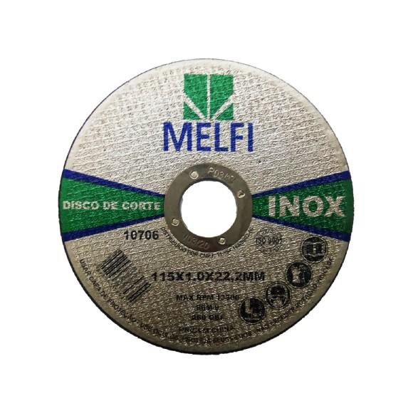 DISCO CORTE INOX 115*1,0*22,23