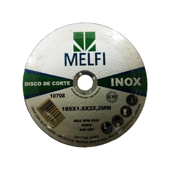 DISCO INOX 180*1,6*22,2MM  MELF