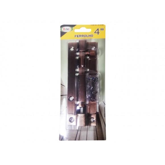 FERROLHO 4  BRONZE   ID-4338F