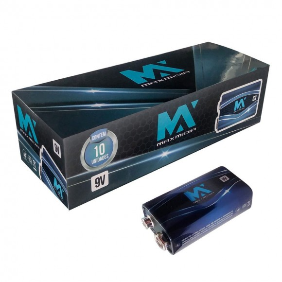BATERIA DE DIOXIDO DE MAGANES 9V   MAX-313004